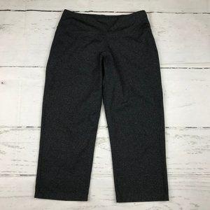 Prana athletic gray capri cropped pants R17